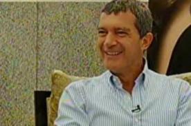 Antonio Banderas: El Perú es mágico y su comida es excelente
