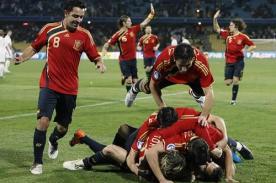 Mundial Brasil 2014: España lidera el ránking FIFA