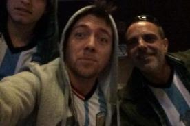 Julián Zucchi ya está listo para alentar a Argentina [Foto]