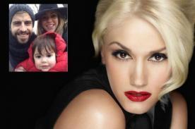 Gwen Stefani queda encantada con Milan Piqué
