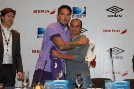 Universitario vs Fiorentina: 'Loco' Vargas hace tremenda broma a Rainer Torres