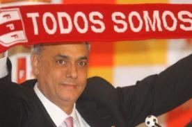 Manuel Burga anuncia que no postulará a la Federación Peruana de Fútbol
