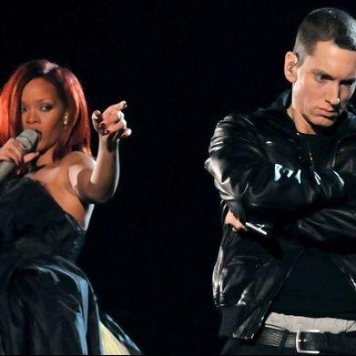 Video: Eminem, Rihanna y Dr. Dre cantando en los Premios Grammy 2011