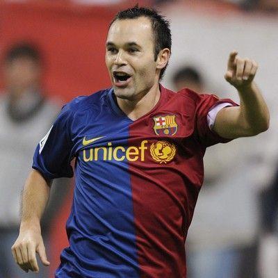 Fútbol español: Iniesta se recupera y jugaría el próximo partido ante el Racing