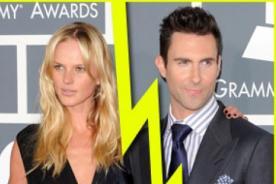 Líder de Maroon 5 termina con su novia