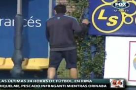 Video: Román Riquelme orinó en la banca de suplentes de Boca Juniors