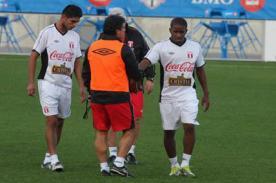 Fútbol peruano: Zambrano y Farfán entrenaron esta mañana en la Videna