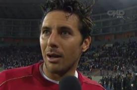 Claudio Pizarro: Teníamos que cuidarnos para el choque ante Colombia