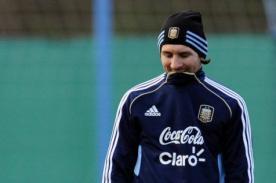 Lionel Messi se suma hoy a los trabajos con la selección argentina
