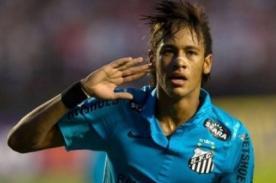 Neymar seguirá en Santos hasta el 2014