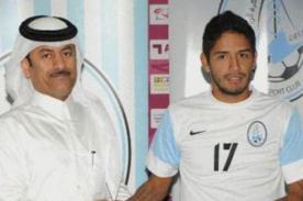 Reimond Manco queda fuera de la pretemporada del Al Wakrah de Qatar