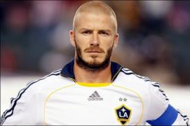 David Beckham gana 45 mil euros diarios gracias a su imagen