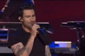Video: Maroon 5 se lució en la ceremonia de nominación de los Grammy 2013