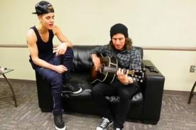 Justin Bieber recuerda sus seis años de carrera con acústico - Video