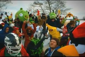 Video: Angry Birds se une al nuevo fenómeno del Harlem Shake