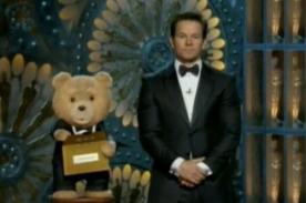 Oscar 2013: Ted y Mark Wahlberg presentaron dos premios