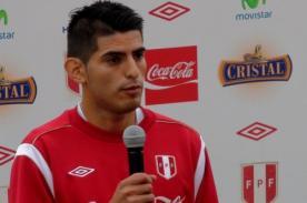Carlos Zambrano llegó a Lima: 'Estoy en mi mejor etapa futbolística'