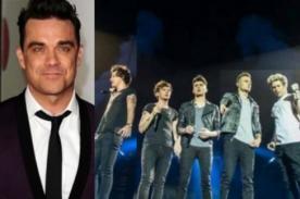 Robbie Williams se considera miembro de One Direction