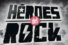 Héroes del Rock: Concierto gratuito se realizará este sábado 22 de junio