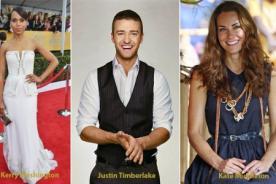 ¡Kerry Washington, Kate Middleton y Justin Timberlake mejores vestidos 2013!