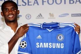Es oficial: Samuel Eto'o es el nuevo refuerzo del Chelsea
