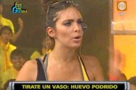 Esto es Guerra: Natalie Vértiz enfurece con Nicole Faverón - Video