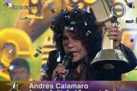 Yo Soy final: Andrés Calamaro se consagra como el mejor de la temporada