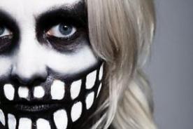 Aprende a maquillarte de calavera para celebrar Halloween