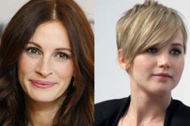 Julia Roberts: Jennifer Lawrence no es la nueva novia de Ámerica