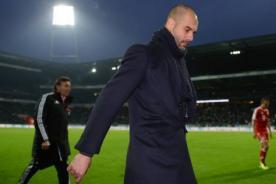 Pep Guardiola: Nos viene bien la derrota ante el Manchester City