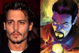 Marvel: Jhonny Depp protagonizaría al Doctor extraño