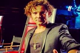 David Bisbal lamenta muerte de participante de 'La Voz de México'