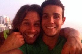 Mario Irivarren demuestra su amistad con Miguel Arce con esta foto