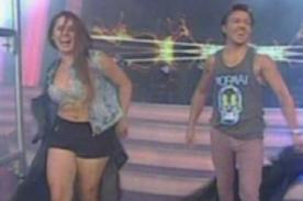 Julián Zucchi y Yidda Eslava retornaron a Combate  - Video