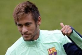 Neymar: Brasil tiene buenas opciones de obtener la Copa Mundial