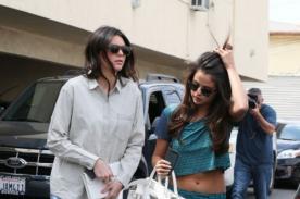 ¿Nuevas amigas? Selena Gomez salió a almorzar con Kendall Jenner (Fotos)