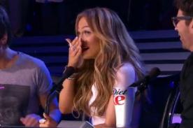 Jennifer López dijo una grosería durante programa en vivo de American Idol