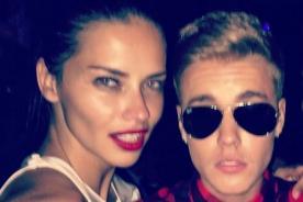 ¿Justin Bieber en provocativo baile con Adriana Lima?