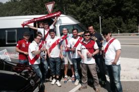 Amistoso Perú vs Suiza: Hinchas peruanos llegan a Lucerna
