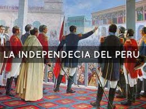 El 28 de julio celebran la independencia del Perú
