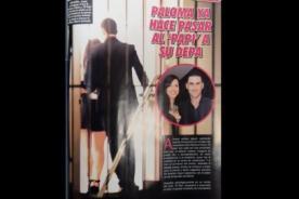 Combate: ¿Paloma Fiuza amaneció con 'El Papi' en su departamento? - FOTOS