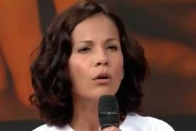 ¿Mónica Sánchez se 'lava la cara' apoyando a damnificados tras silencio por Caso Odebrecht?