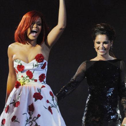 Rihanna describe a Cheryl Cole como su chica adorada