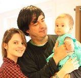 Jaime Bayly y su hija celebran cumpleaños de Silvia